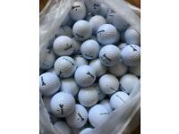 50 Srixon soft feel golf balls in grade a mint condition £20or 100 for £35