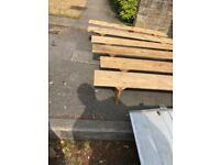 Small Wooden benches