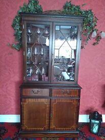 Mahogany Style Cabinet