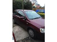 Corsa for parts or spares