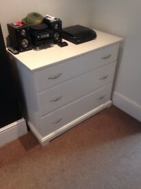 IKEA Chest of Drawers (White)