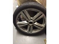 BMW 1 Series M Sport 18inch Alloy Wheels with Tyres x2