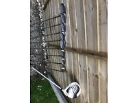 Titleist irons and Driver