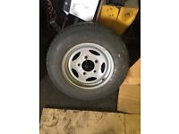 Discovery defender new spare tyre
