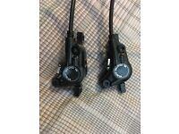 Shimano Deore M615 brake set (Front & Rear)