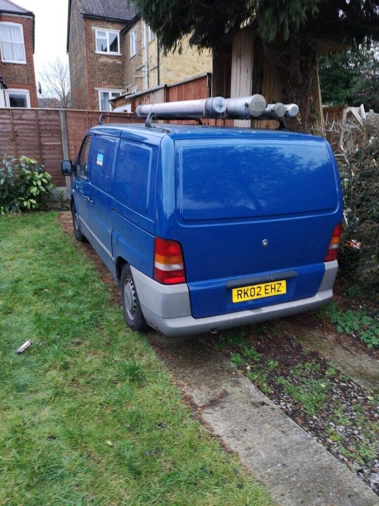 b13462368e Mercedes Vito - Blue Van. Guildford ...