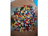Lego bricks various big bundle