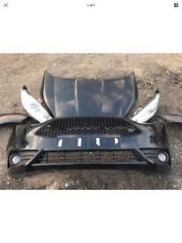 2016 Ford Fiesta ST 1.6 Complete Front End Bonnet Lights Wings Bumper Radiator Pack