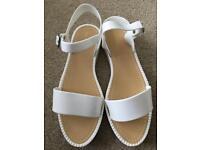 Jelly Sandals White (UK 5)