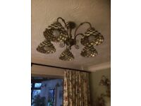 Vintage Style Ceiling & Wall lights (2)