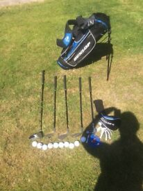 Kids Golf Clubs with Bag, Golf-balls, T's