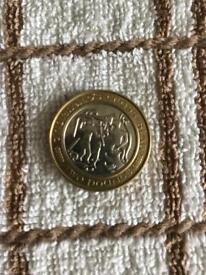 Isle of man £2 coin