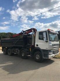 Daf 380 grab lorry