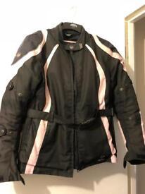 Ladies Merlin motorbike jacket