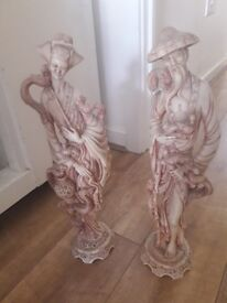 2X CHINESE FIGURES