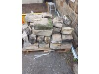 16SqMetre Approximately - Reclaimed Yorkshire Stone. Collection Only