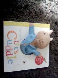 Peter rabbit puppet book