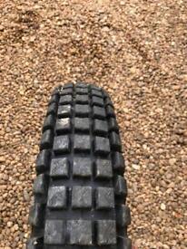 Tyres trials motocross