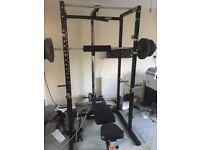 Power cage/squat rack