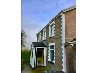 large detached 3 bedroom house in Pontypridd area, 12 miles form Cardiff