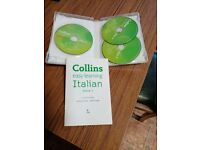 Collins easy learning Italian discs
