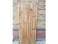 Made-To-Measure-Wooden-Garden-Gate-Feather-Edge-Treated-Arch Top