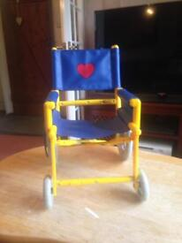 Build a bear wheelchair