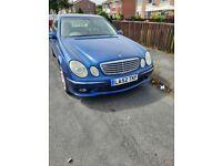 Mercedes-Benz, E CLASS, Saloon, 2002, Semi-Auto, 2597 (cc), 4 doors