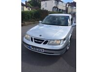 Saab 9-5 ARC 4door saloon turbo on 2002 in met silver
