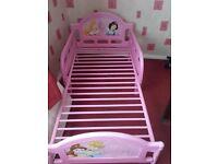 Disney princess childrens bed
