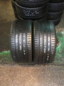 2 PW 315 35 20(110W) Pirelli P Zero Run Flat RSC Tread 5mm-6mm