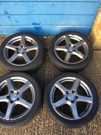 Honda Accord type-s alloy wheels
