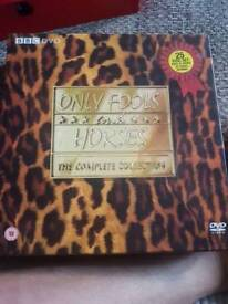 Only fools and horses DVD box set.