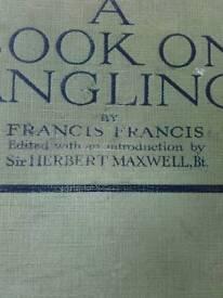 Francis Francis fishing book