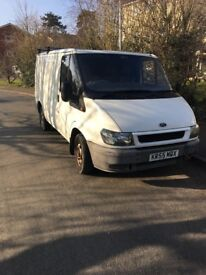 FORD TRANSIT BOX VAN 1 PREVIOUS OWNER NO VAT ON SALE DRIVES GREAT