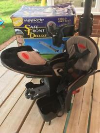 WeeRide Deluxe child bike seat