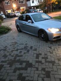 BMW 335D LCI e90 blue saloon