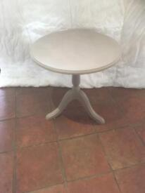 Up cycled round plant or general use table