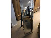 Brand new floor standing mirror