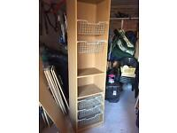 Wardrobe storage unit