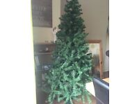 7ft artificial Christmas Tree, green