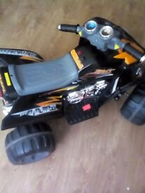 Children's quad great condition up to from 2 to 6 years old