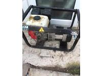 Pramac Honda gx160 generator 110v 240v 2.5kva