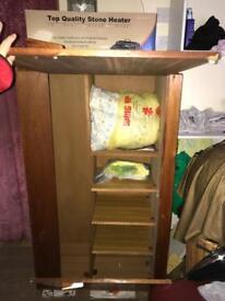 Antique wardrobe and storage