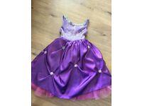Beautiful purple and pink dress