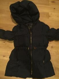 Zara jacket. Navy. 5-6 years. Good conditon