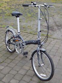 "Dawes ""Jack"" folding commuters bike - super condition"
