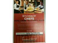 Chef roles various