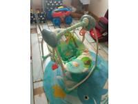 Bright starts motorised baby swing