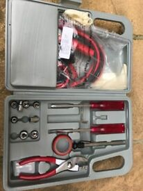 Motorists Toolkit with Jumpleads